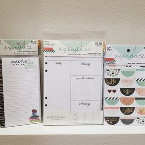 Planner inserts and stickers